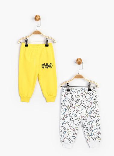 Batman Pijama Takım Sarı